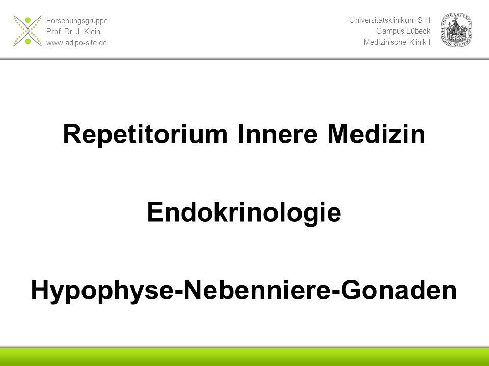 Repetitorium Innere Medizin Hypophyse-Nebenniere-Gonaden