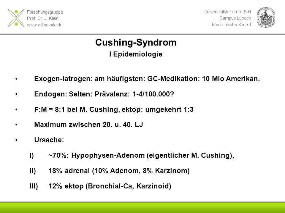 Cushing-Syndrom I Epidemiologie