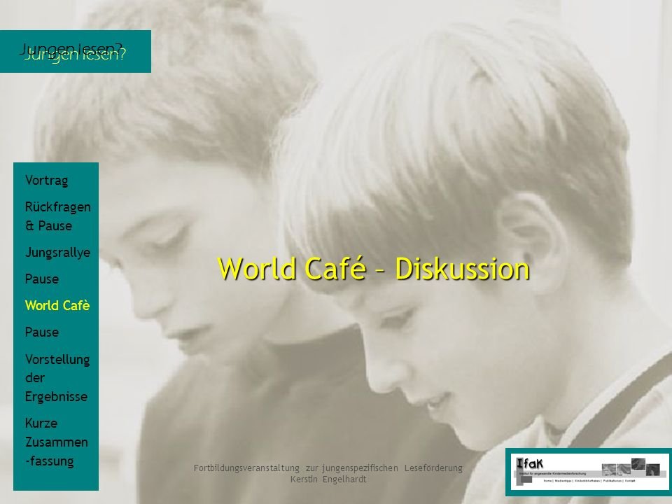 World Café – Diskussion