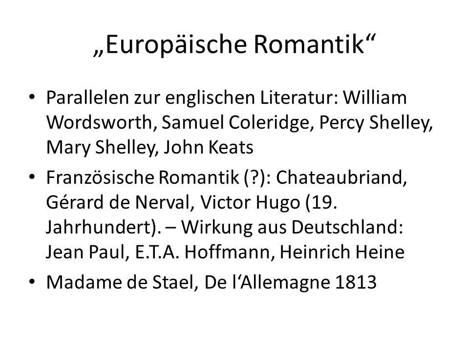 """""""Europäische Romantik"""