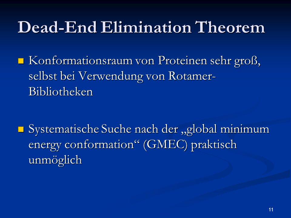 Dead-End Elimination Theorem