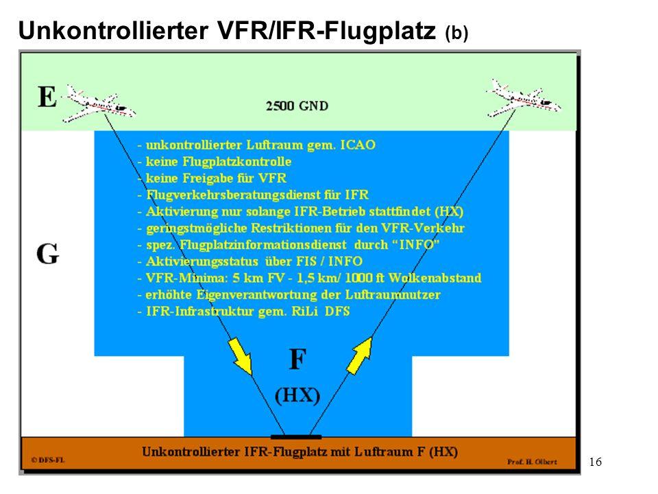 Unkontrollierter VFR/IFR-Flugplatz (b)