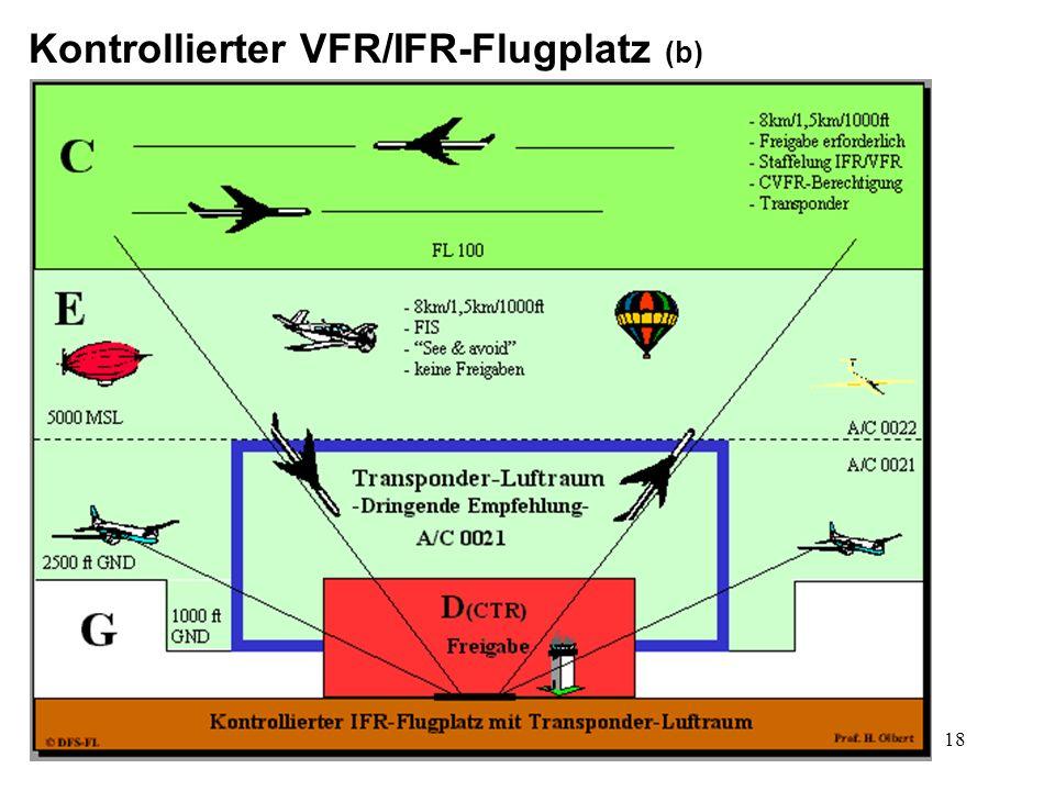 Kontrollierter VFR/IFR-Flugplatz (b)