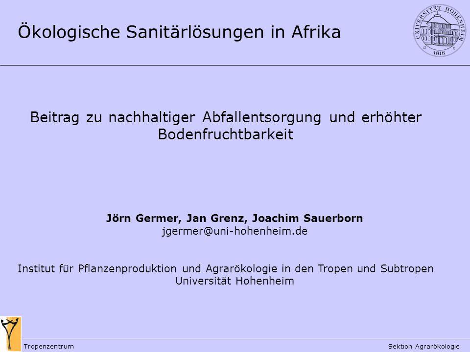 Jörn Germer, Jan Grenz, Joachim Sauerborn
