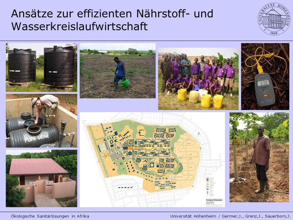 Ansätze zur effizienten Nährstoff- und Wasserkreislaufwirtschaft