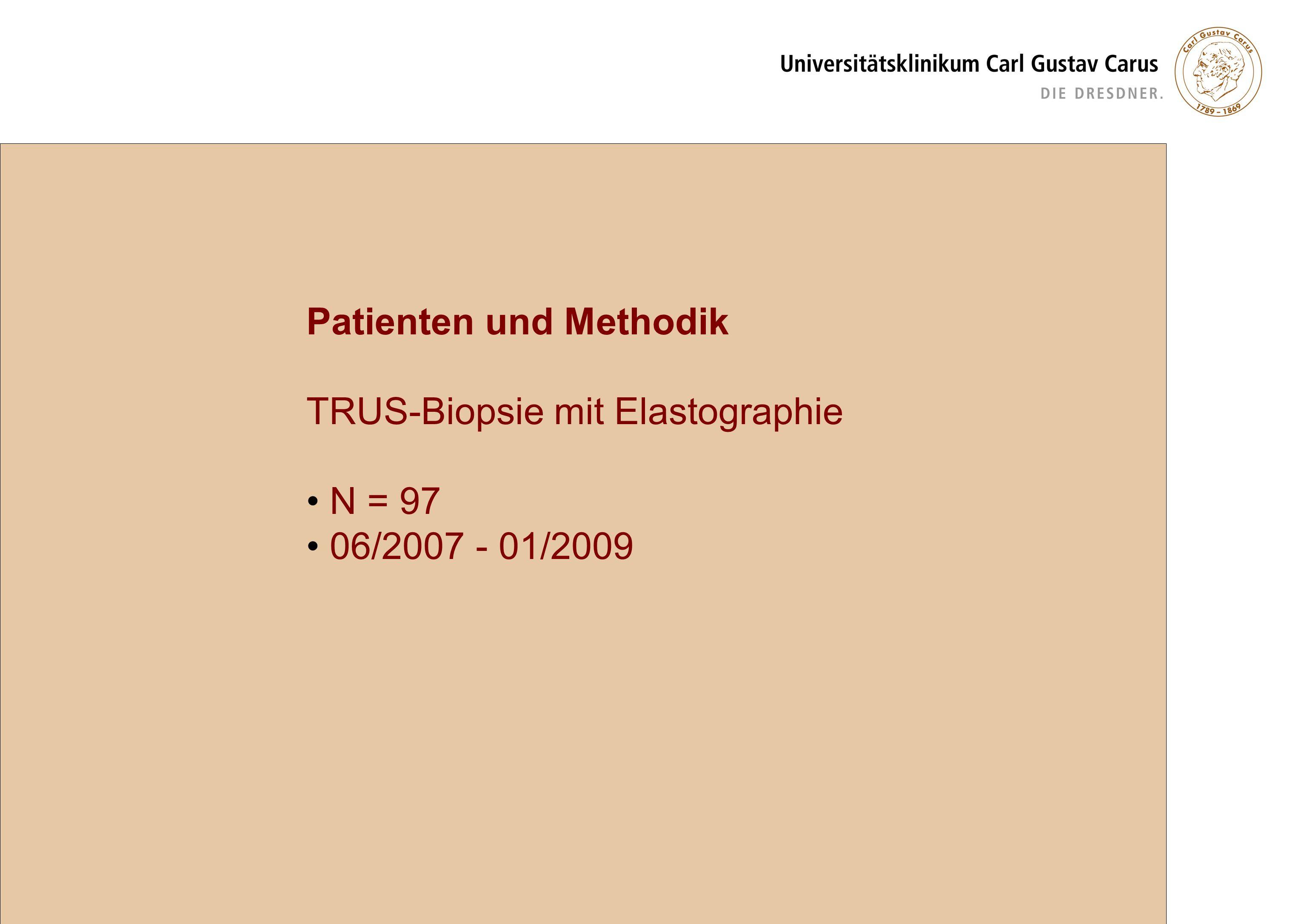 Patienten und Methodik