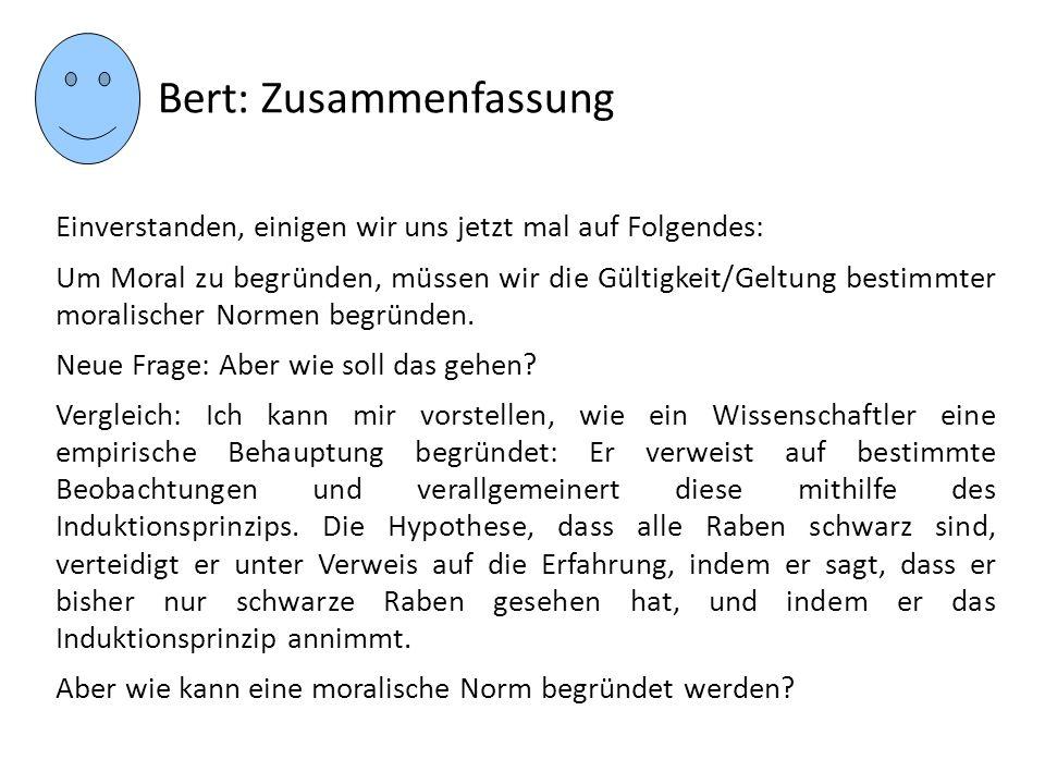 Bert: Zusammenfassung