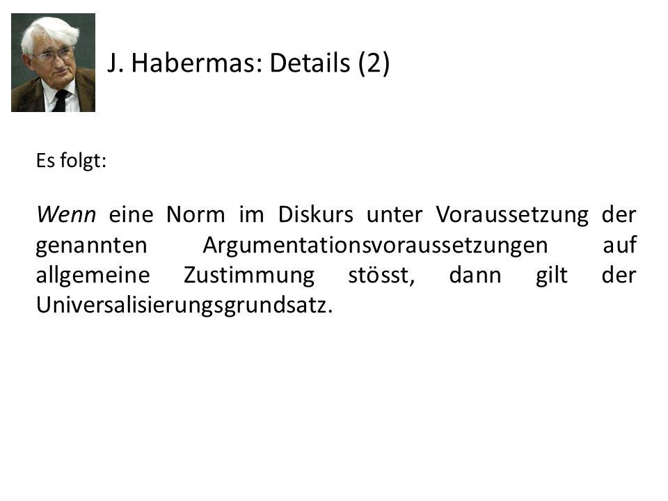 J. Habermas: Details (2)