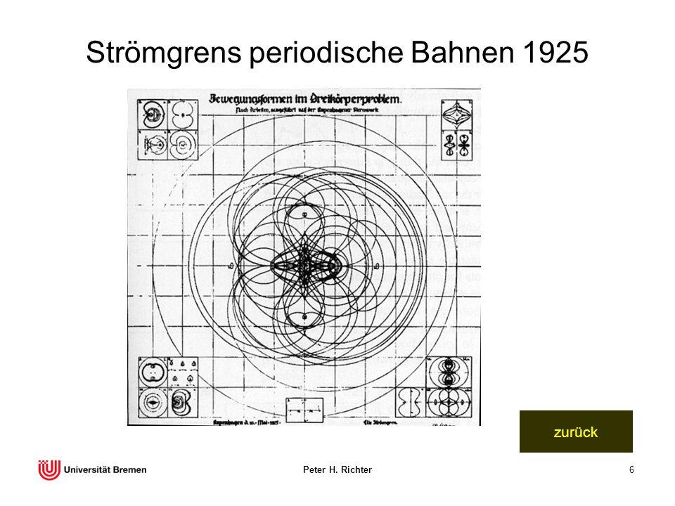Strömgrens periodische Bahnen 1925