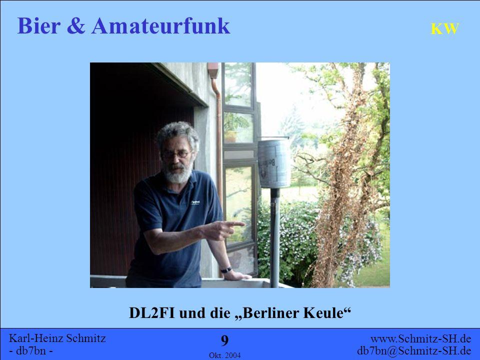 """DL2FI und die """"Berliner Keule"""