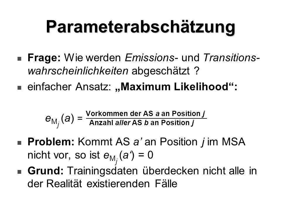 Parameterabschätzung