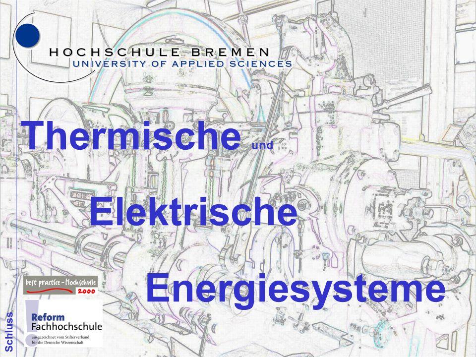 Thermische und Elektrische Energiesysteme Schluss