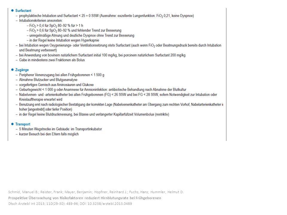 Schmid, Manuel B.; Reister, Frank; Mayer, Benjamin; Hopfner, Reinhard J.; Fuchs, Hans; Hummler, Helmut D.