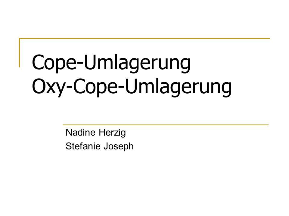 Cope-Umlagerung Oxy-Cope-Umlagerung