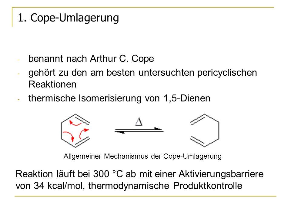 1. Cope-Umlagerung benannt nach Arthur C. Cope