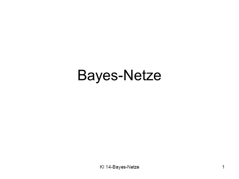 Bayes-Netze KI 14-Bayes-Netze