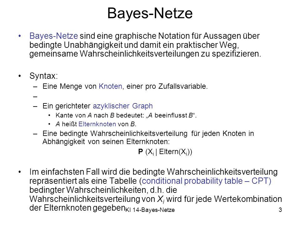 Bayes-Netze