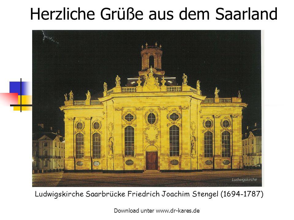 Herzliche Grüße aus dem Saarland