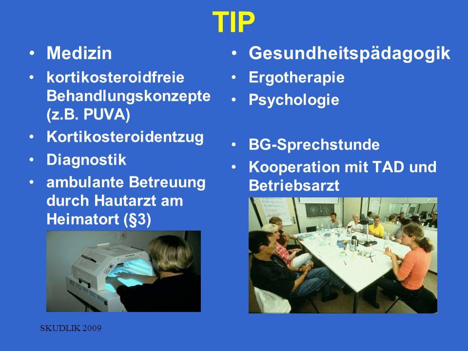 TIP Medizin Gesundheitspädagogik