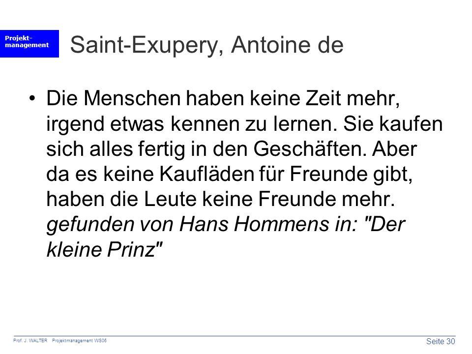 Saint-Exupery, Antoine de