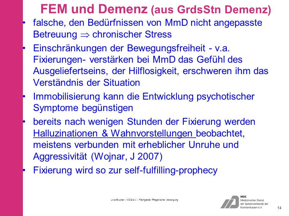 FEM und Demenz (aus GrdsStn Demenz)