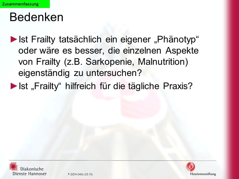 ZusammenfassungBedenken.