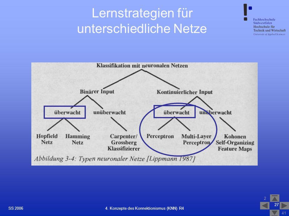 Lernstrategien für unterschiedliche Netze