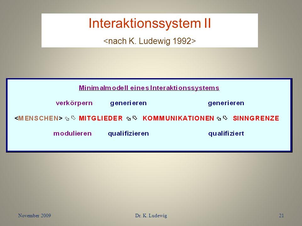 Interaktionssystem II
