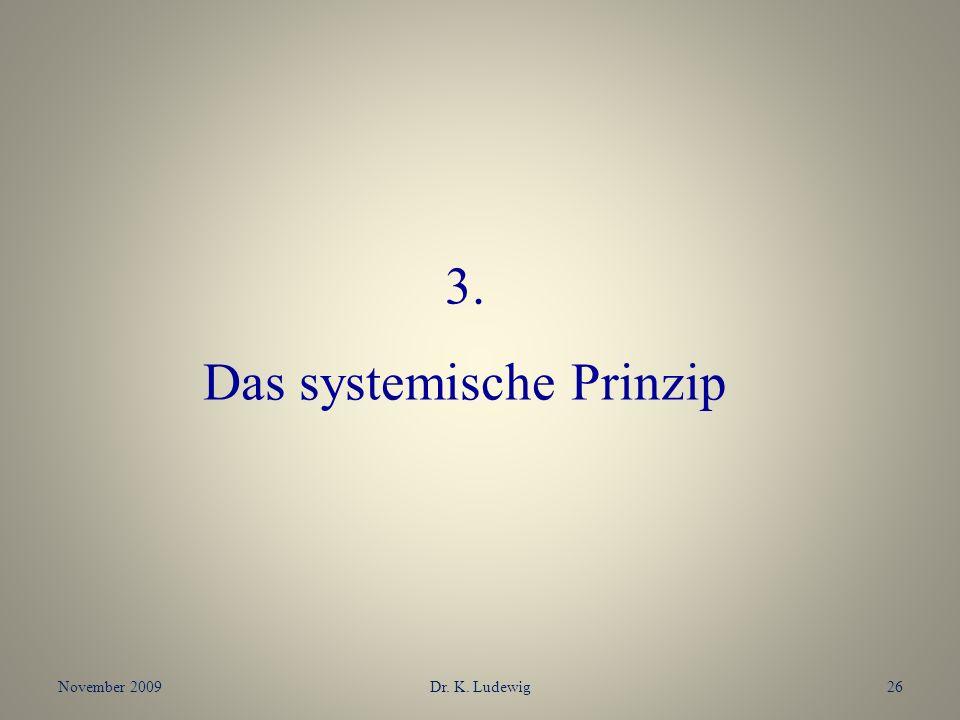 Das systemische Prinzip