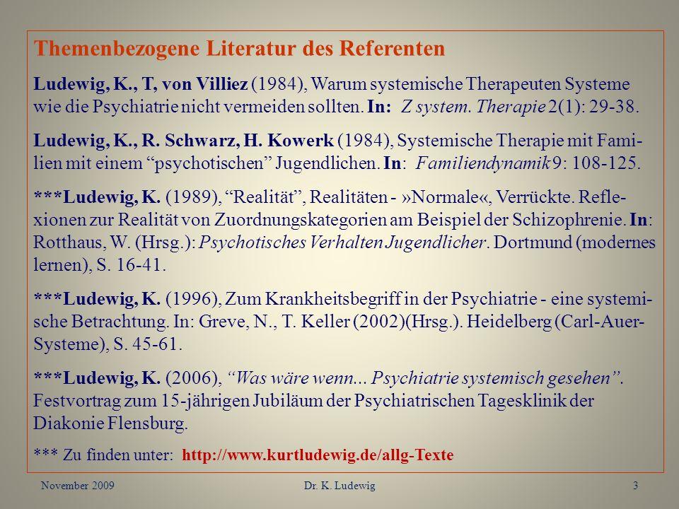 Themenbezogene Literatur des Referenten