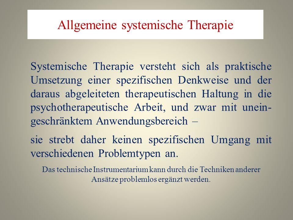 Allgemeine systemische Therapie
