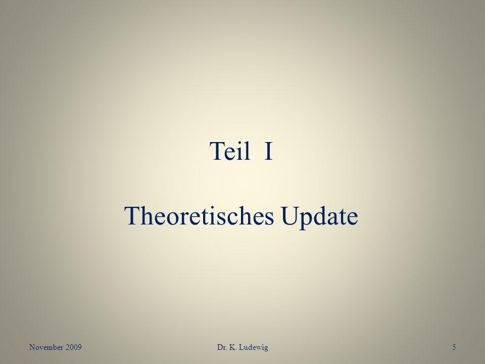 Teil I Theoretisches Update