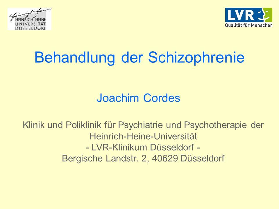 Behandlung der Schizophrenie