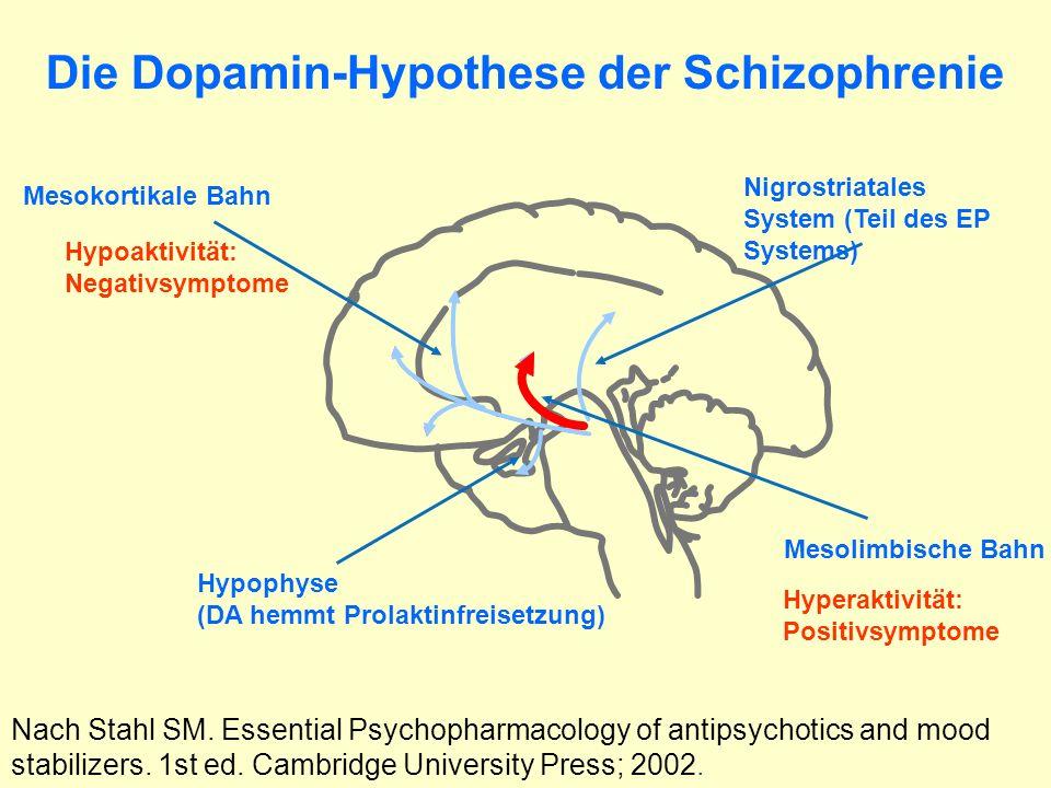 Die Dopamin-Hypothese der Schizophrenie