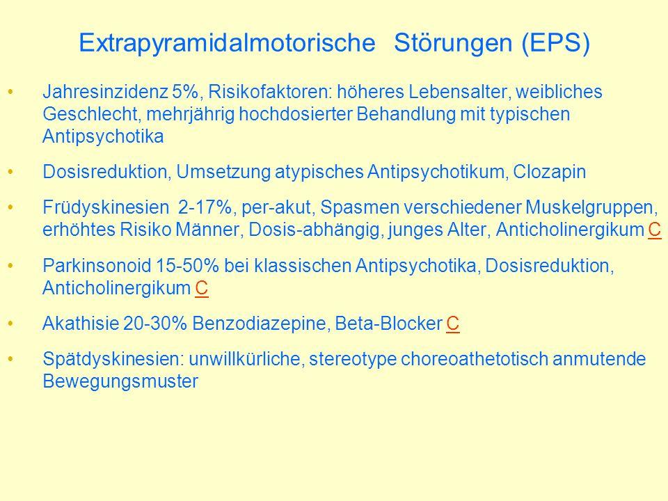 Extrapyramidalmotorische Störungen (EPS)