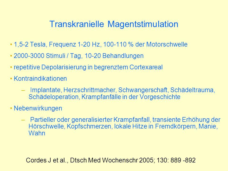 Transkranielle Magentstimulation