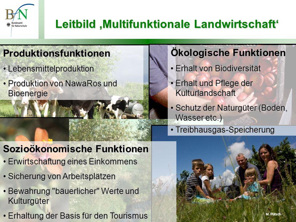 Leitbild 'Multifunktionale Landwirtschaft'