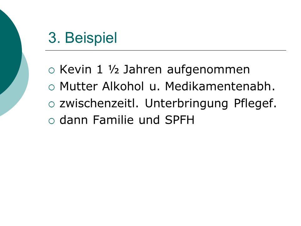 3. Beispiel Kevin 1 ½ Jahren aufgenommen