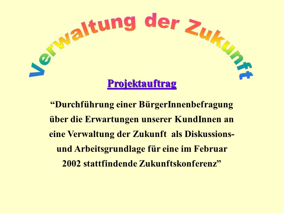 Verwaltung der Zukunft