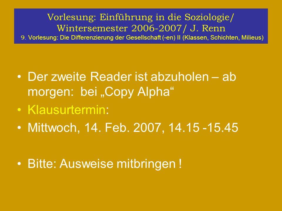 """Der zweite Reader ist abzuholen – ab morgen: bei """"Copy Alpha"""