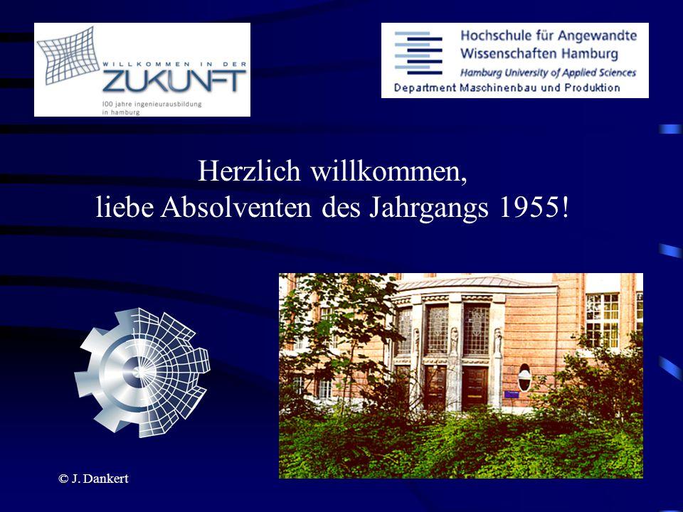 Herzlich willkommen, liebe Absolventen des Jahrgangs 1955!