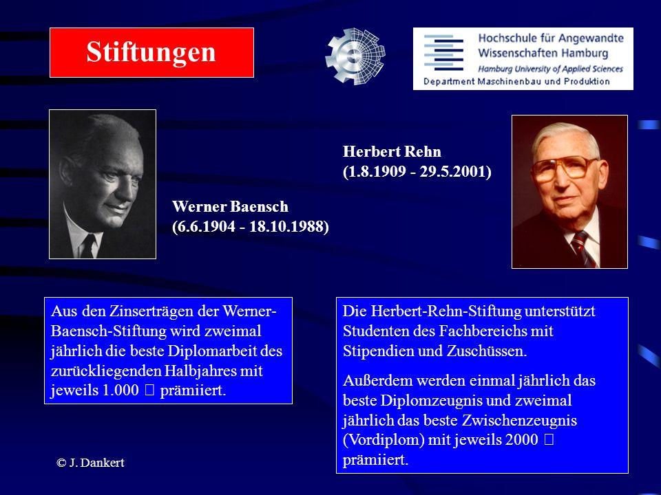 Stiftungen Herbert Rehn (1.8.1909 - 29.5.2001)