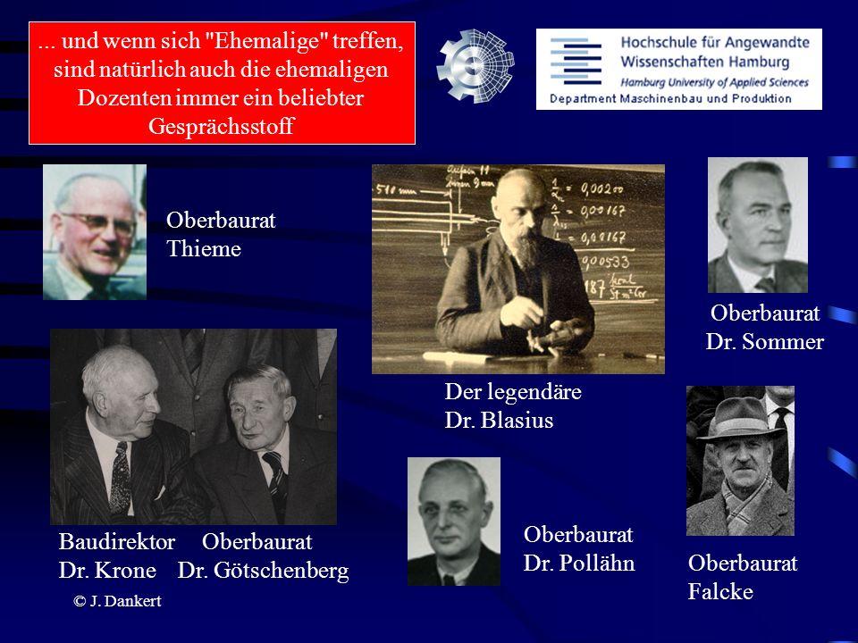 Der legendäre Dr. Blasius