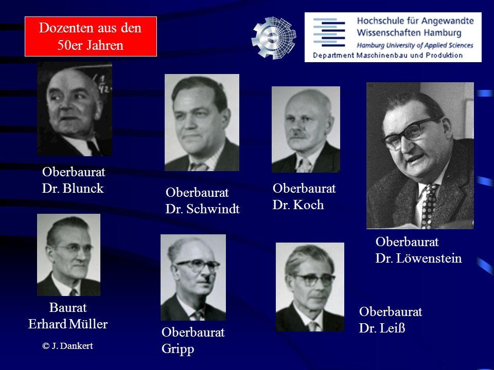 Dozenten aus den 50er Jahren