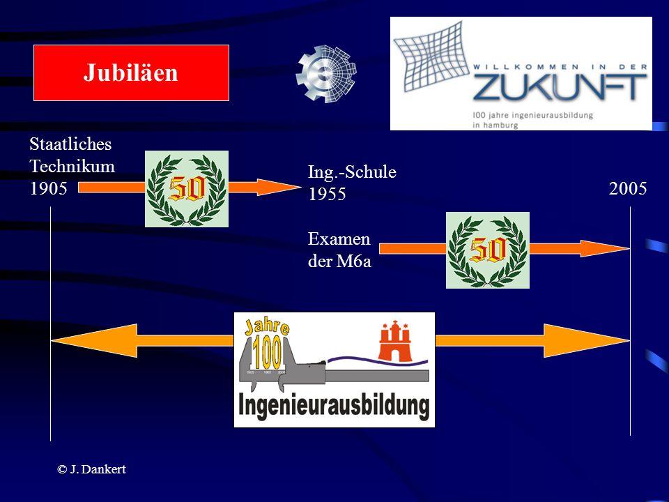 Jubiläen Staatliches Technikum 1905 Ing.-Schule 1955 2005