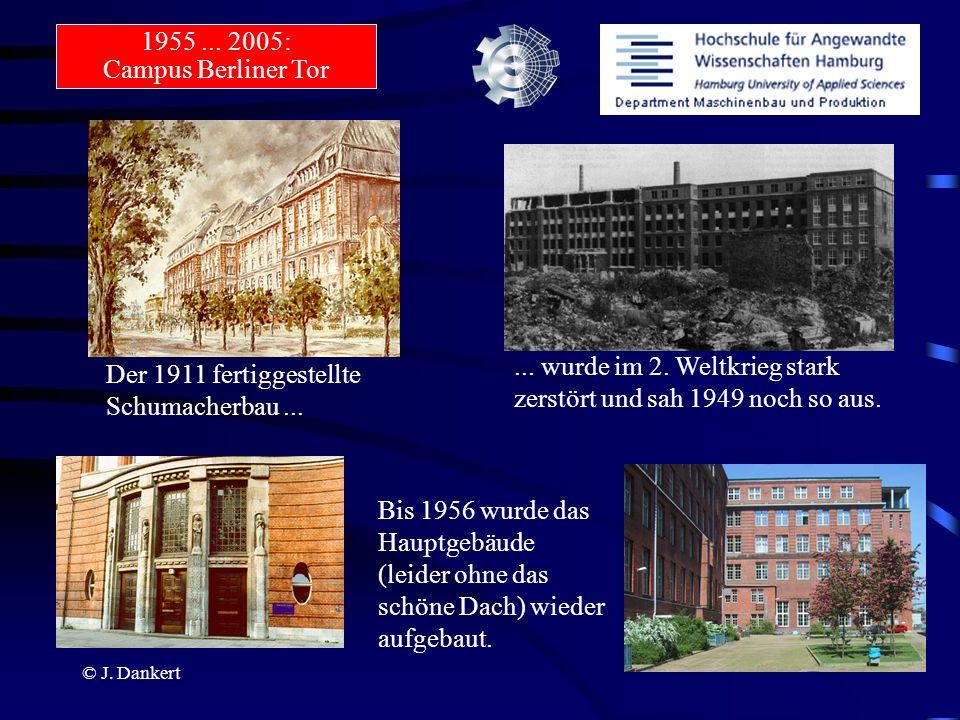 ... wurde im 2. Weltkrieg stark zerstört und sah 1949 noch so aus.