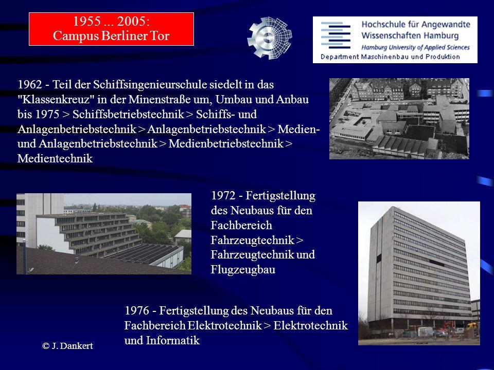 1955 ... 2005: Campus Berliner Tor