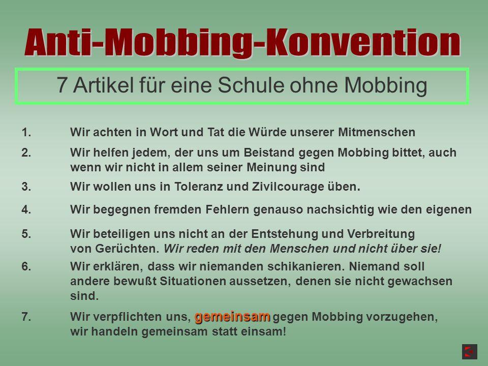 Anti-Mobbing-Konvention