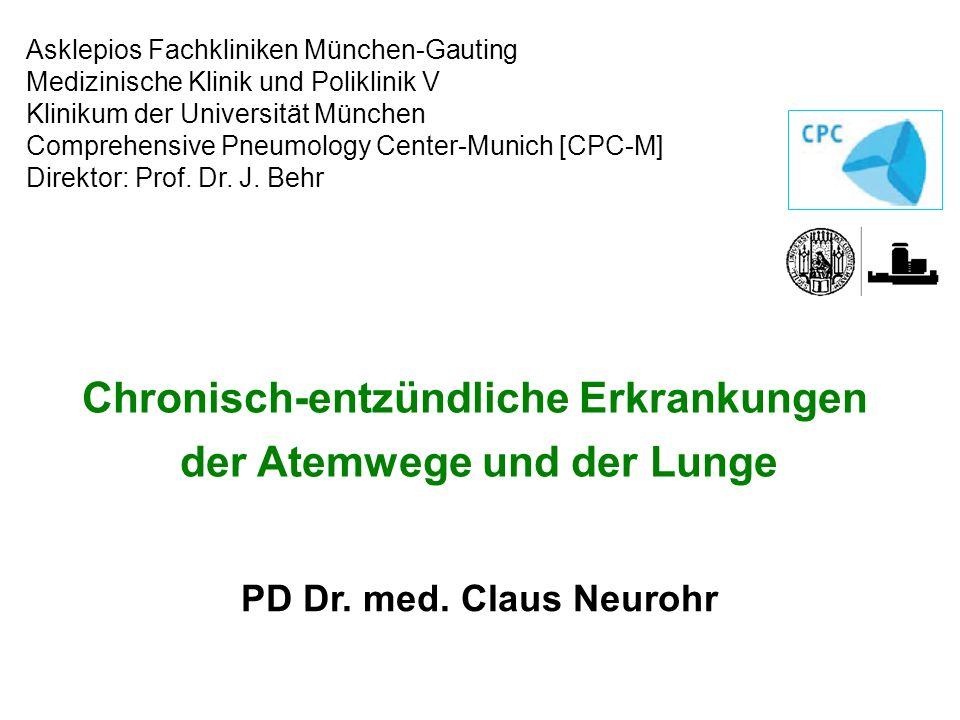 Arbeitsblatt Lunge Und Atemwege : Chronisch entzündliche erkrankungen der atemwege und