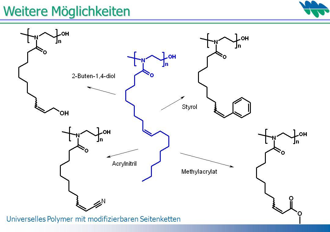 Universelles Polymer mit modifizierbaren Seitenketten